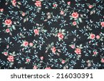 vintage style of tapestry... | Shutterstock . vector #216030391