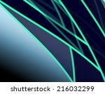 beautiful fashion abstract... | Shutterstock .eps vector #216032299