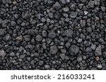 Volcano Rock Texture Background.