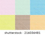 set of background patterns  ... | Shutterstock .eps vector #216036481