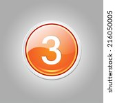 3 Number Circular Vector Orang...