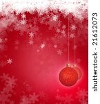 christmas background with... | Shutterstock . vector #21612073