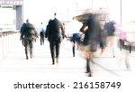 long exposure  high key... | Shutterstock . vector #216158749