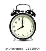 alarm clock | Shutterstock . vector #21615904