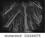 Spooky Grunge Forest...