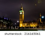 Big Ben At Night London United...