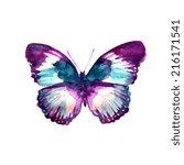 butterflies design | Shutterstock . vector #216171541