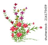 spring and flowers | Shutterstock . vector #216175459