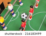 table football | Shutterstock . vector #216183499