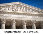 supreme court of the united... | Shutterstock . vector #216196921