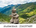 Trail Marker In Val Di Scalve ...