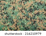 Closeup Of The Pattern Of A...