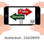 Fake Genuine Signpost...