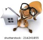 fun squirrel | Shutterstock . vector #216241855