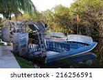 florida  usa   dec 22  airboat...   Shutterstock . vector #216256591