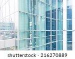 modern glass silhouettes of... | Shutterstock . vector #216270889