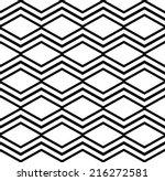 contrast light geometric... | Shutterstock .eps vector #216272581
