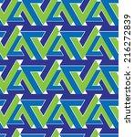 regular extraordinary geometric ... | Shutterstock .eps vector #216272839