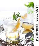 Gin  Tonic  Lemon  Rosemary...