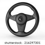 steering wheel | Shutterstock . vector #216297301