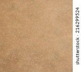 brown kraft paper texture or... | Shutterstock . vector #216299524