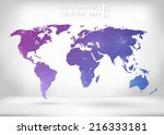 abstract creative concept... | Shutterstock .eps vector #216333181