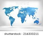 abstract creative concept... | Shutterstock .eps vector #216333211