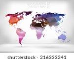 abstract creative concept...   Shutterstock .eps vector #216333241
