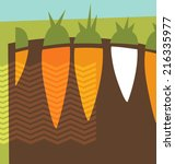 Abstract Carrots Graphic Desig...