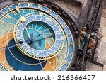 Prague Astronomical Clock At...