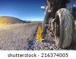 Road Crossing The Death Valley...