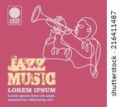 jazz | Shutterstock .eps vector #216411487