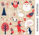 Set Of Christmas Graphic...