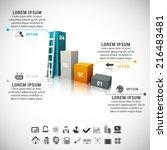 vector illustration of business ...   Shutterstock .eps vector #216483481