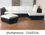 black and white furniture... | Shutterstock . vector #2165216
