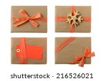 several christmas presents... | Shutterstock . vector #216526021