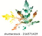 watercolor  | Shutterstock . vector #216571429