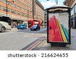 london   july 1  2014. bus... | Shutterstock . vector #216624655