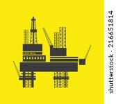 oil industry design over...   Shutterstock .eps vector #216651814