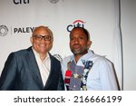 Small photo of LOS ANGELES - SEP 11: Larry Wilmore, Kenya Barris at the Paley Center For Media's PaleyFest 2014 Fall TV Previews - ABC at Paley Center For Media on September 11, 2014 in Beverly Hills, CA