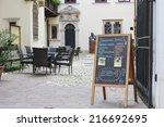 krakow  poland   september 12 ... | Shutterstock . vector #216692695