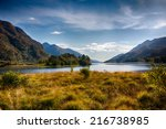 view from glenfinnan memorial... | Shutterstock . vector #216738985