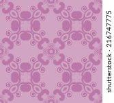 abstract seamless pattern.... | Shutterstock .eps vector #216747775