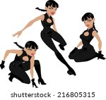 vector illustration of a... | Shutterstock .eps vector #216805315