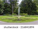 prague  czech republic. old... | Shutterstock . vector #216841894