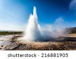Stokkur Geyser Eruption ...