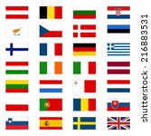 european union countries | Shutterstock .eps vector #216883531