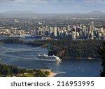 Vancouver   Cruise Ship Leavin...
