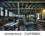 Hdr   Old Abandoned Factory...