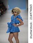 new york  ny   september 10 ...   Shutterstock . vector #216974065